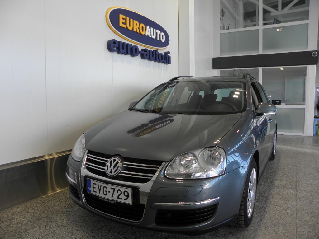 Volkswagen Golf Variant Comfortline 1, 4 90 kW TSI,  DSG-autom. SUOMI AUTO,  ILMASTOINTI,  LOHKIS,  KAHDET RENKAAT,  HYV KATS AUT VÄH 1000