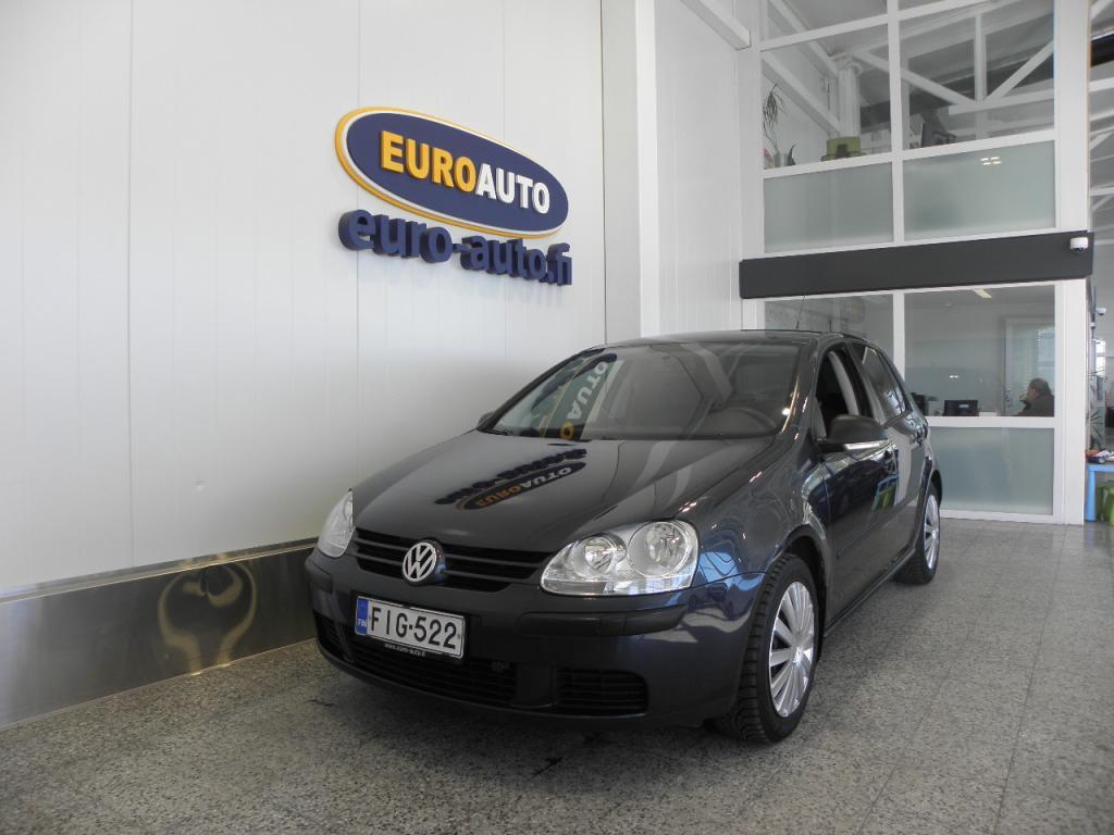 Volkswagen Golf Trendline 1, 6 75 kW 4-ov SUOMI AUTO,  VAIN 90?/KK,  ILMASTOINTI,  ESP,  LOHKIS,  KAHDET RENKAAT,  TUMMENNUKSET,  ISOFIX,