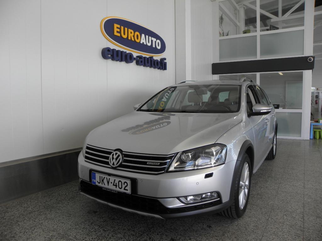 Volkswagen Passat Variant Alltrack 2, 0 TDI 125 kW(170 hv) BlueMotion Technology 4MOTION DSG-aut,  NAHAT,  SPORTTIPENKIT,  KAHDET RENKAAT,  AUX