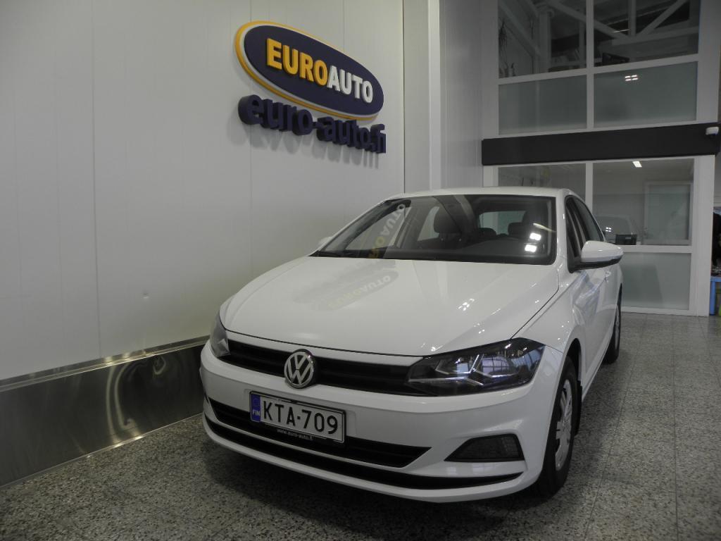 Volkswagen Polo Trendline 1, 0 55 kW (75 hv),  1.OMISTEINEN SUOMI AUTO,  LÄHES UUSI AUTO VAIN 190?/KK,  KAHDET RENKAAT,  CRUISE,  BLUETOOTH