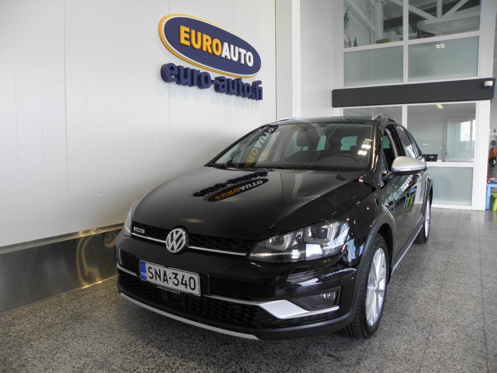 Volkswagen Golf Variant Alltrack 2, 0 TDI 135 kW (184 hv) 4MOTION DSG-automaatti,  1.OMISTEINEN SUOMI AUTO,  WEBASTO,  NAVI,  VETOKOUKKU,  USB