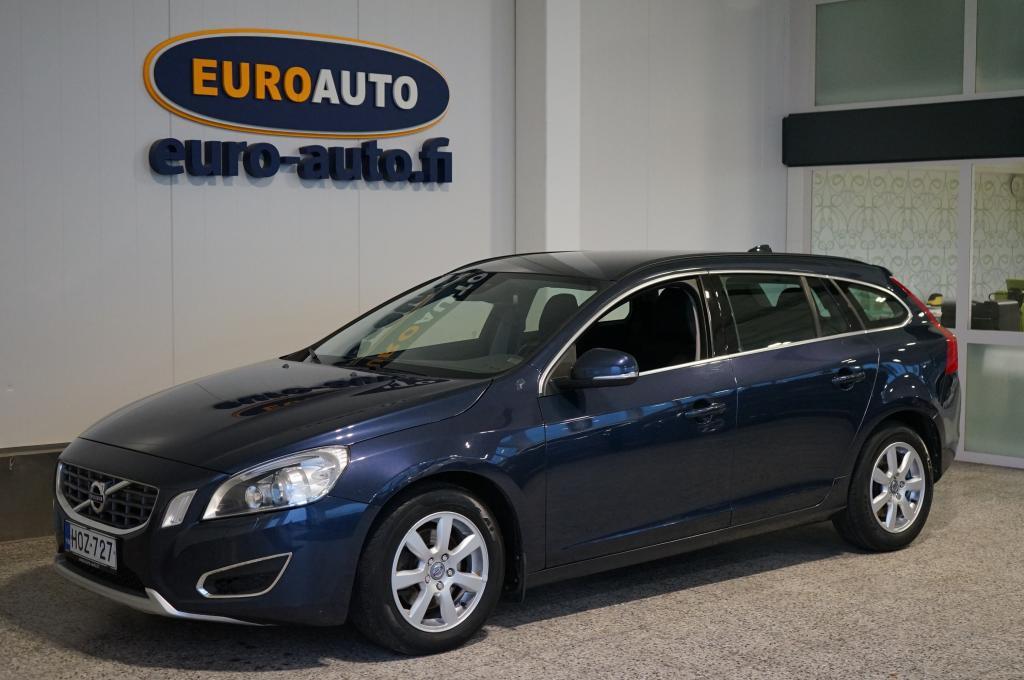 Volvo V60 1, 6D DRIVe Momentum,  SUOMI AUTO,  VAIN 140e/kk,  JAKOHIHNA VAIHDETTU,  KAHDET RENKAAT,  WEBASTO,  CRUISE,  BLUETOOTH,  ISOFIX