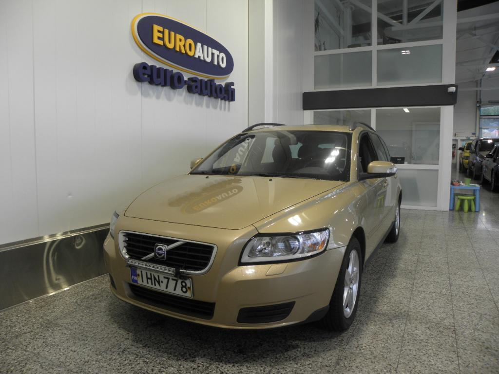 Volvo V50 1, 6D (110 hv) Kinetic man,  SUOMI AUTO,  WEBASTO KELLOLLA,  CRUISE,  AUX,  ALUT. ISOFIX,  KAHDET RENKAAT,