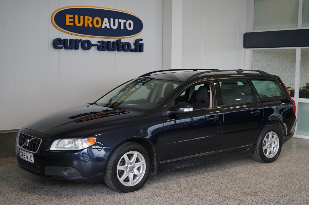 Volvo V70 2, 4D Momentum aut. ASIALLINEN SUOMI AUTO,  VAIN 125e/KK,  LISÄLÄMMITIN,  JAKOHIHNA VAIHDETTU,  KAHDET RENKAAT,  CRUISE