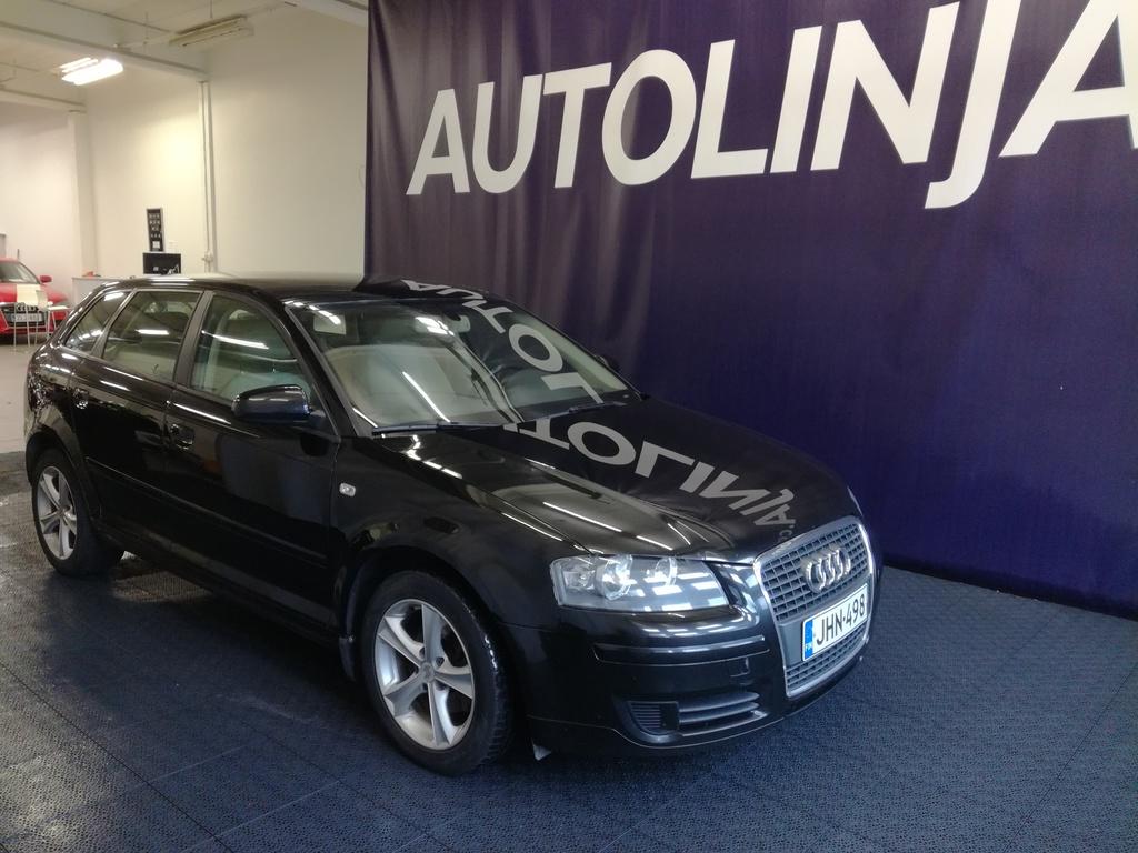 Audi A3 1.4 Turbo,  Suomi-auto,  Rahoitus jopa ilman käsirahaa!!