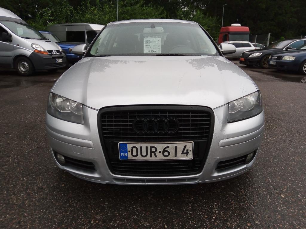 Audi A3 2.0 TDI,  Jakohihna vaihdettu 228tkm,  Rahoitus jopa ilman käsirahaa!!