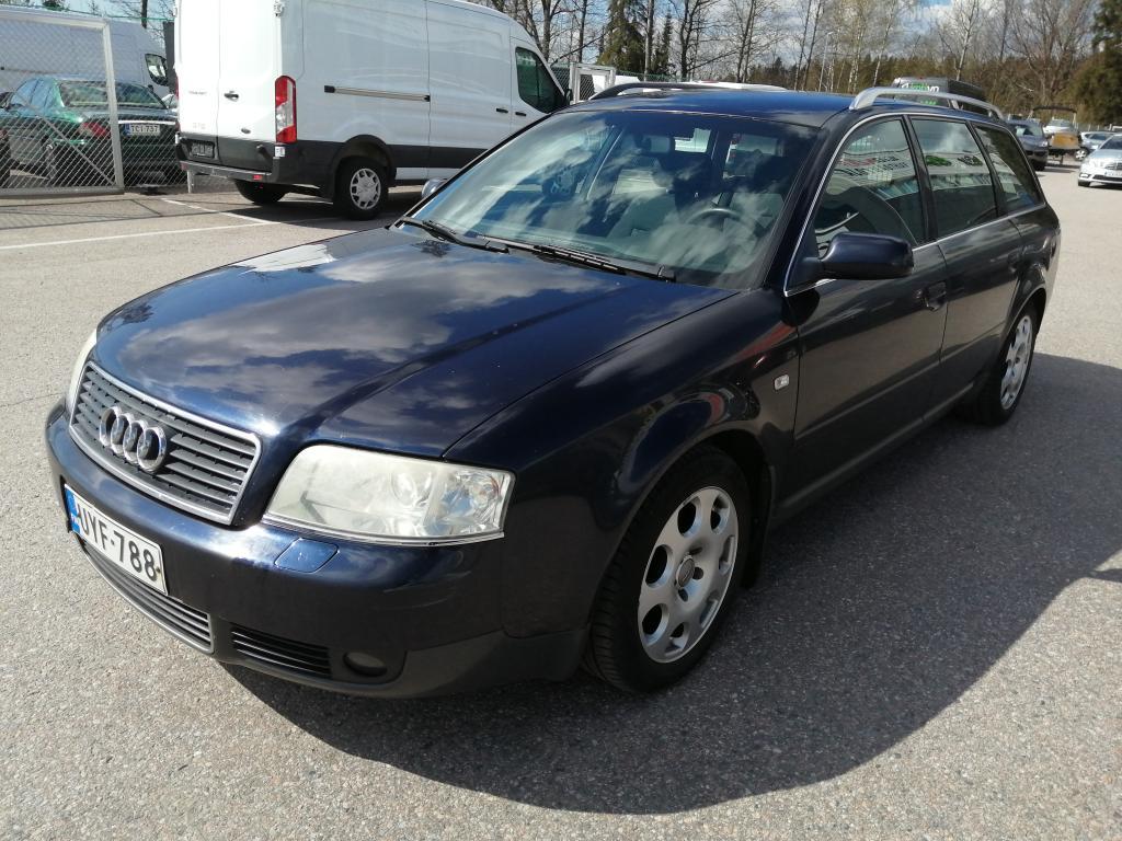 Audi A6 2.4i 170hv Avant Quattro,  Ilmastointi,  Automaatti,  Rahoitus jopa ilman käsirahaa!!