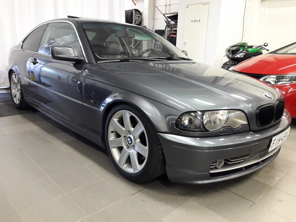 BMW 330 3.0i Coupe Automaatti,  Nahkasisusta,  Kattoluukku,  Alustasarja,  Rahoitus alkaen 0% käsirahalla!!