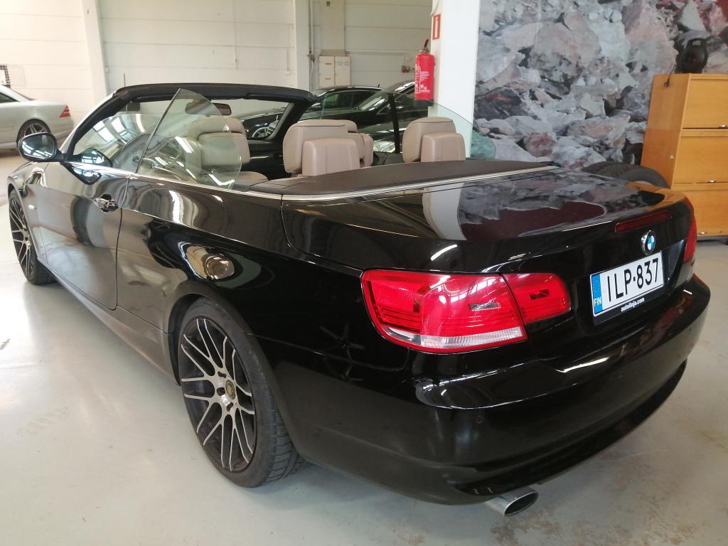 BMW 320 2.0d Autom. Cabrio,  Ohjelmoitu n.230hv + egr off + dpf off,  19