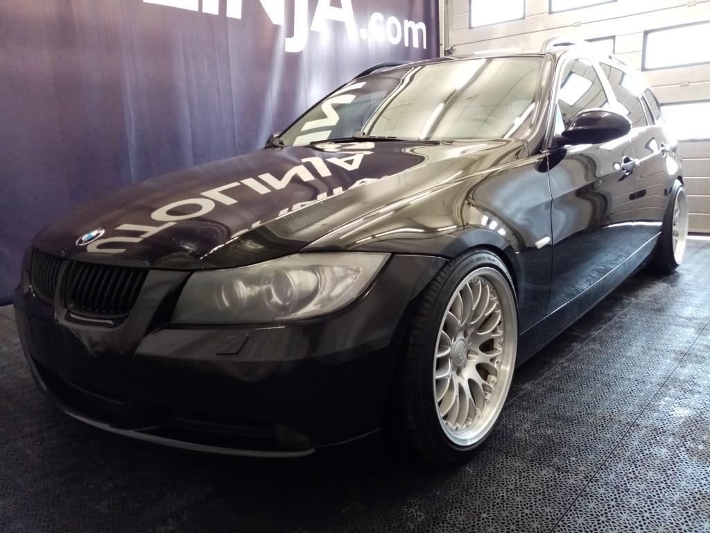 BMW 320 2.0D,  Pirteä ja matala!! +200hv,  2 x 18