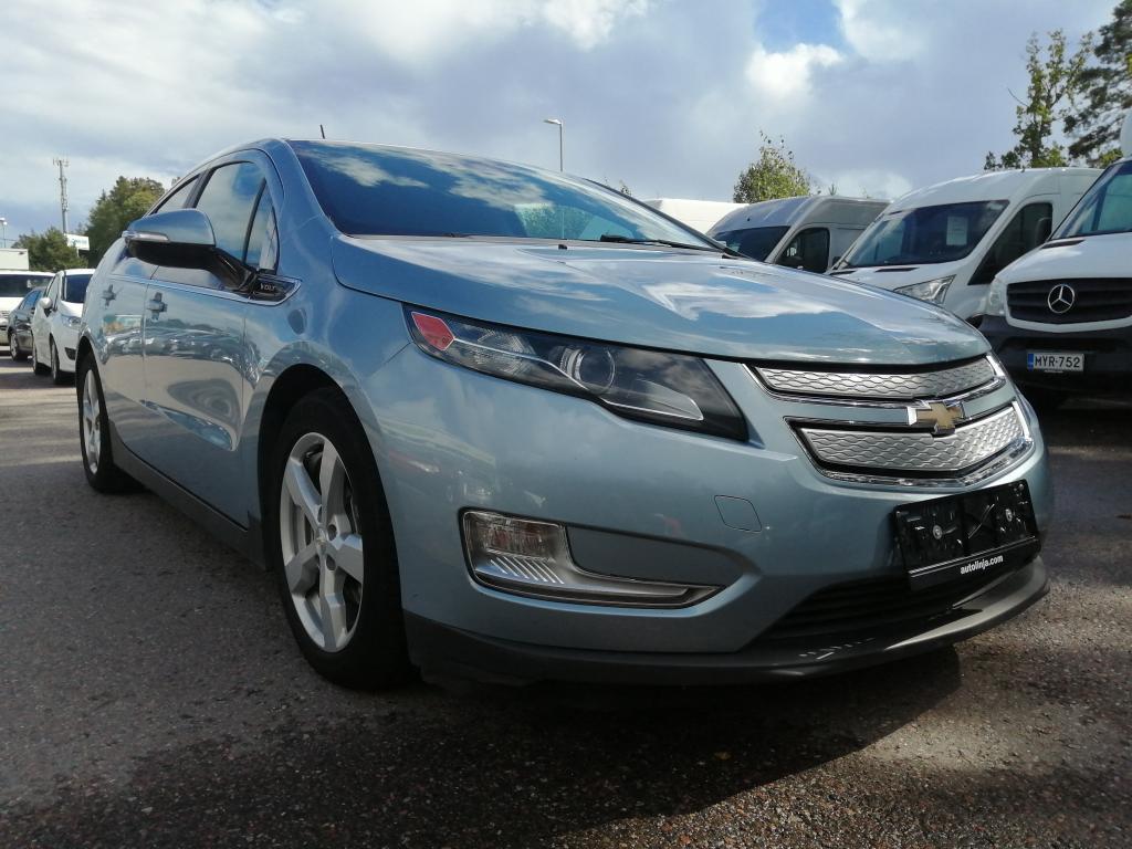 Chevrolet Volt 1.4 Ecotec Plug in Hybrid,  Automaatti,  Bluetooth,  Xenon,  Peruutuskamera,  Siisti,  Rahoitus jopa ilman käsirahaa!!