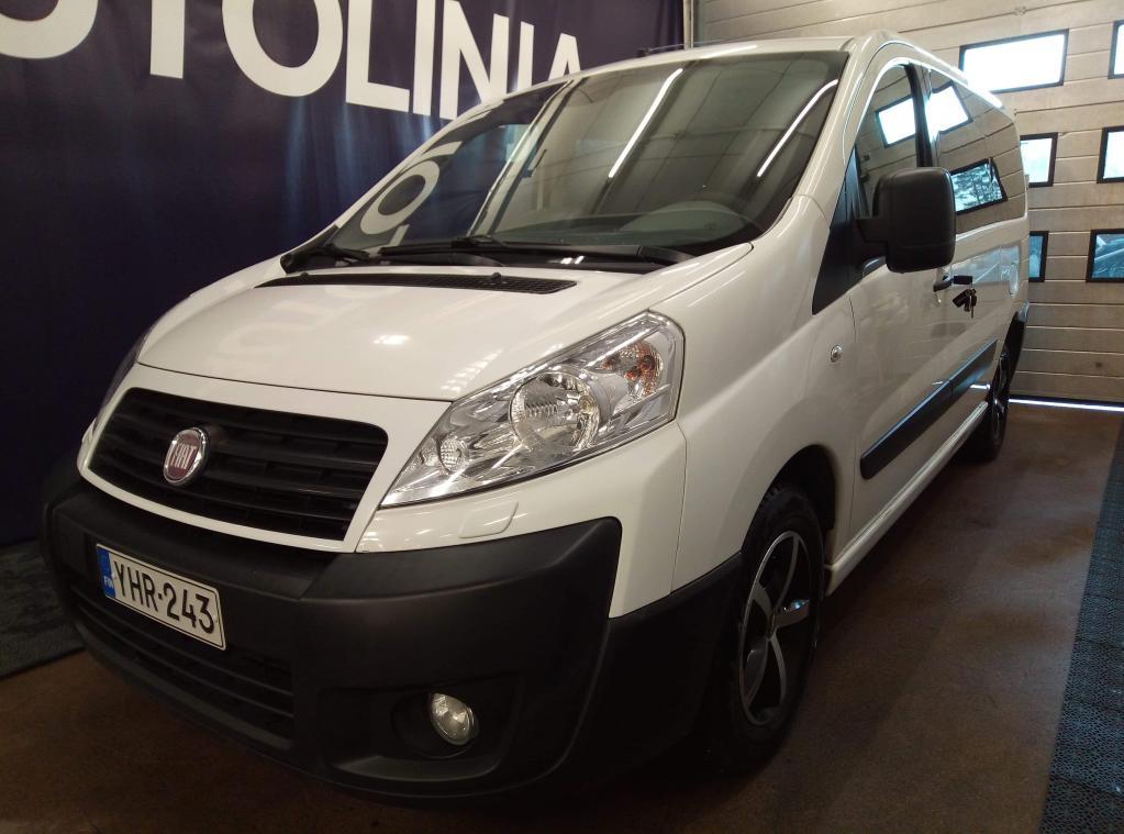 Fiat Scudo 2.0D,  1+8-paikkainen,  Takatilassa pyörätuoliramppi,  Hinta sis. ALV!!