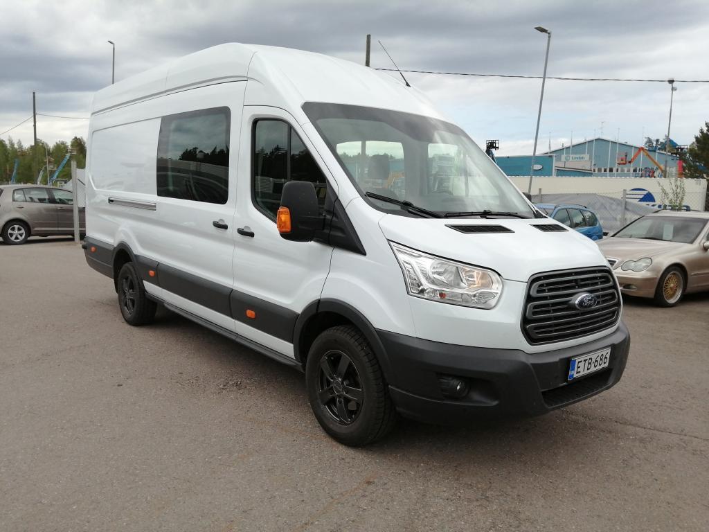 Ford Transit 3+3 hlö:lle rekisteröity matkailuauto,  Jääkaappi,  Mikroaaltouuni,  Invertteri,  Hinta sis. ALV!!