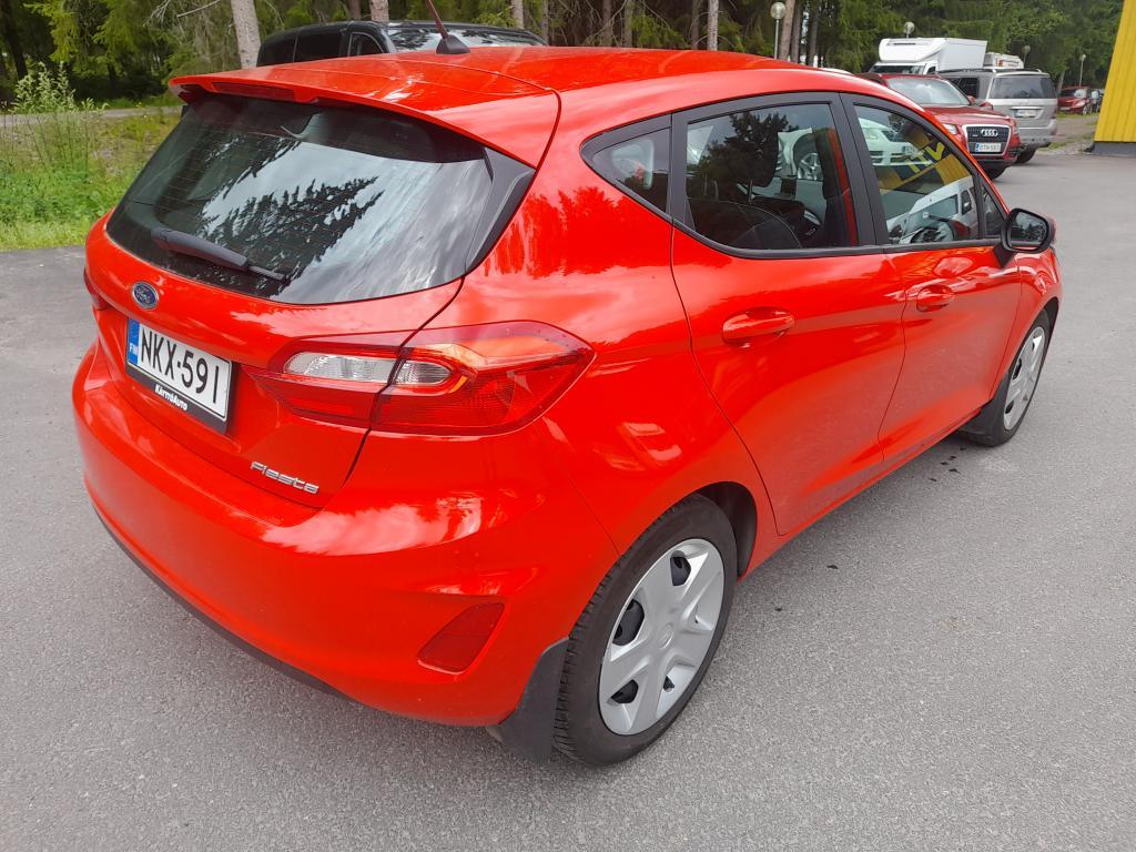 Ford Fiesta 1, 1 85hv M5 Trend 5-ovinen,  1-omisteinen Suomi-auto,  Rahoitus jopa ilman käsirahaa!!