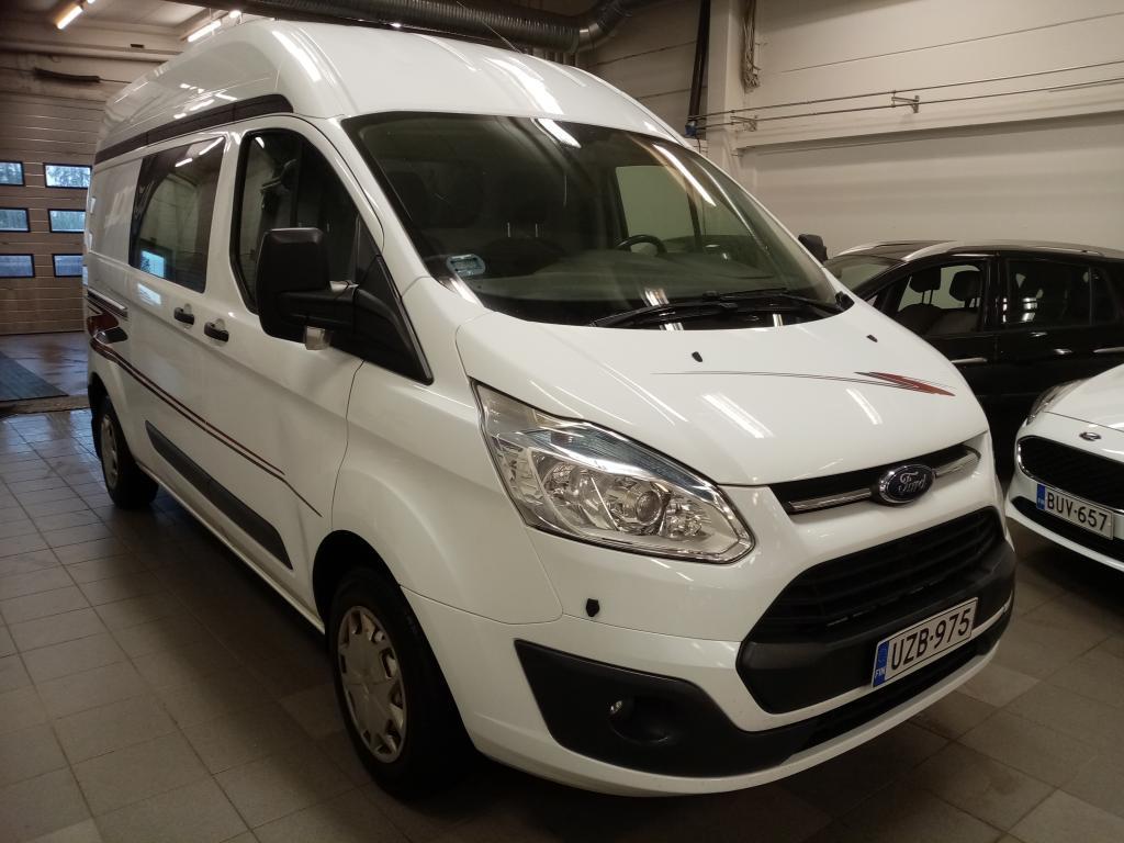 Ford Transit Custom L2H2 2.2 TDCi 155hv Trend,  Start/stop,  2-om. Suomi-auto,  Siisti,  Hinta sis.ALV,  Rahoitus jopa 0% käsirahalla!!
