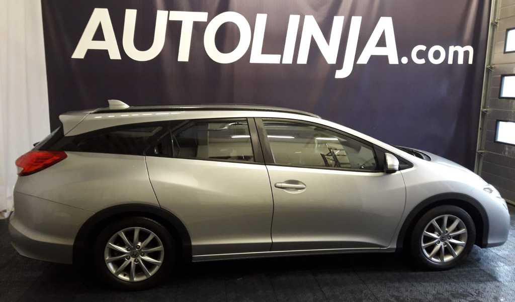 Honda Civic Tourer 1, 8i Comfort,  Suomi-auto,  Sis.ALV,  1-omistaja,  Rahoitus jopa ilman käsirahaa!!