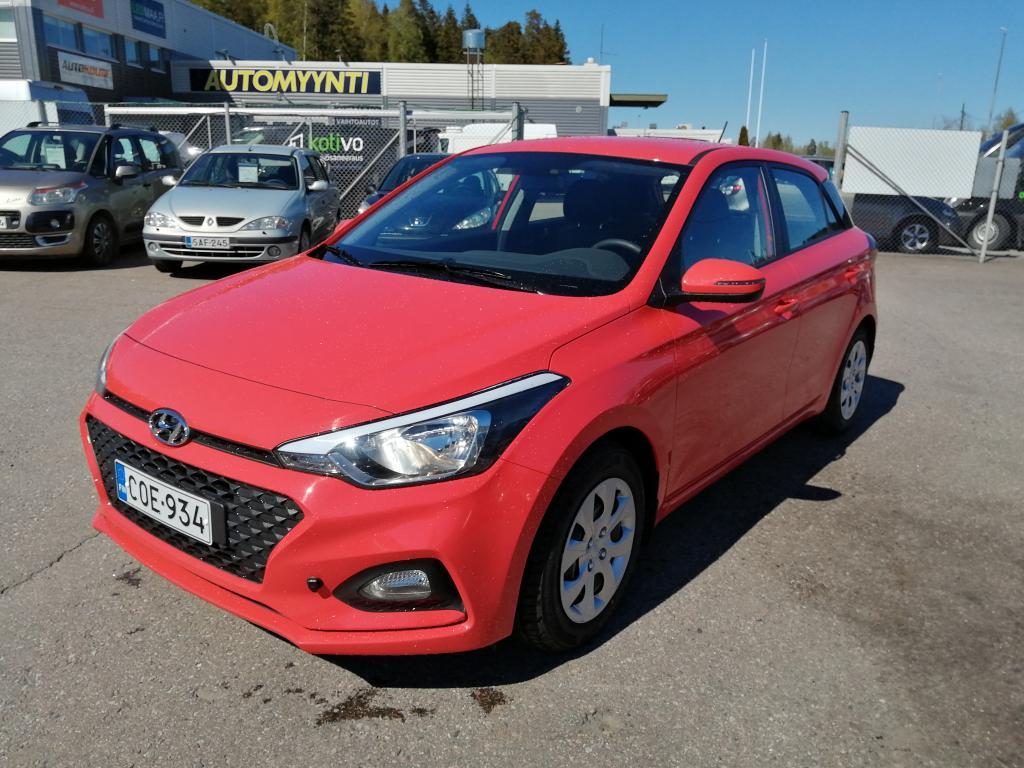 Hyundai i20 1, 2 MPI 75 hv 5MT Fresh W,  Tehdastakuu voimassa 10/2026 asti,  Rahoitus jopa ilman käsirahaa!!