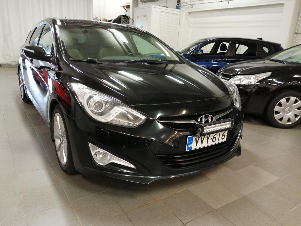 Hyundai i40 Wagon 1, 7 CRDi 100kW 6AT Style Business,  Automaatti,  Suomi-auto,  Rahoitus jopa ilman käsirahaa!!