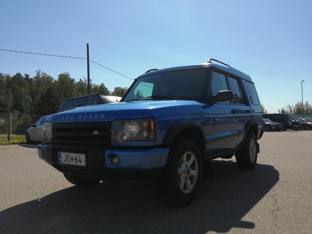 Land Rover Discovery 2.5TD Automaatti,  Alvillinen pakettiauto!! Mahdollisuus myös 5hlö henkilöautoksi,  Rahoitus jopa 0% käsirahalla!!