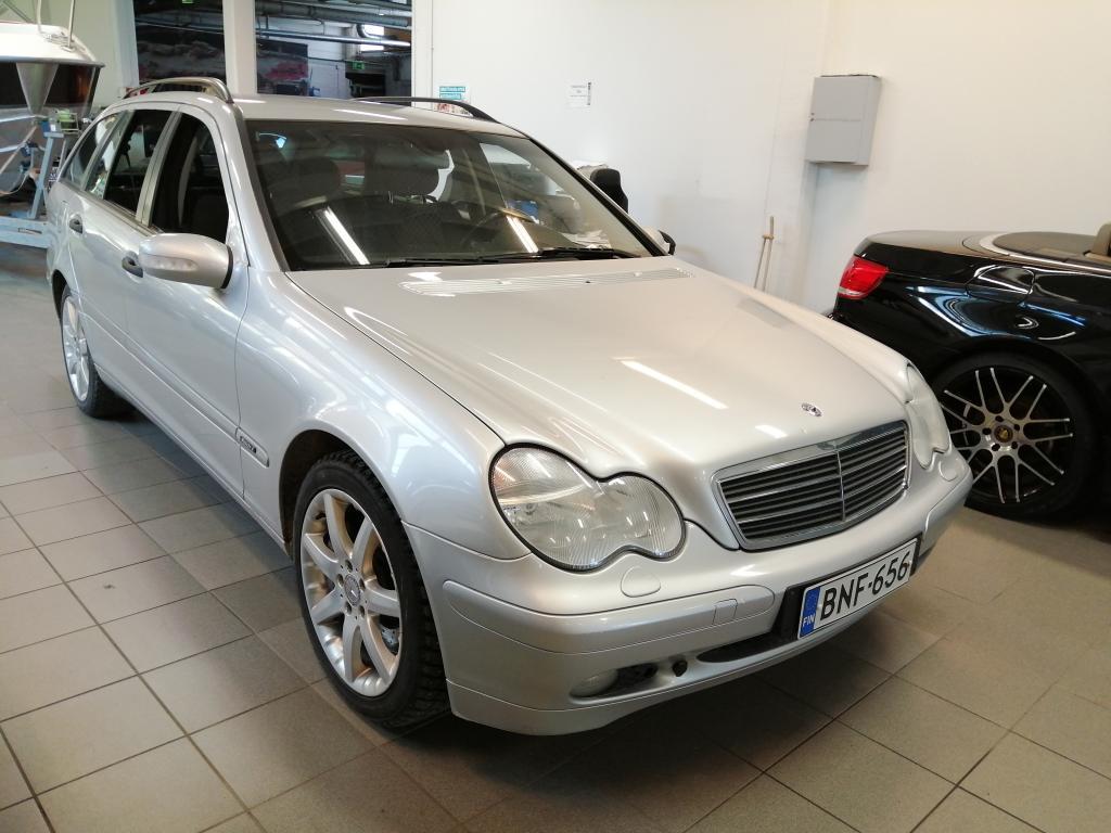 Mercedes-Benz C 180 Kompressor Sport Automaatti,  Suomi-auto,  Rahoitus jopa ilman käsirahaa!!