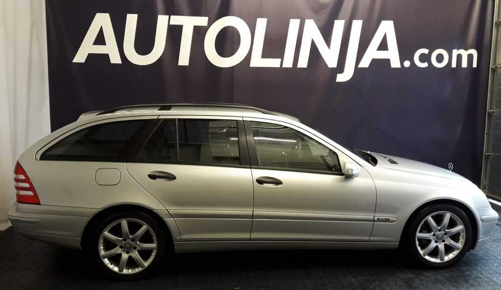 Mercedes-Benz C 180 Kompressor Automaatti,  1-omisteinen Suomi-auto!! Rahoitus jopa 0% käsirahalla!!