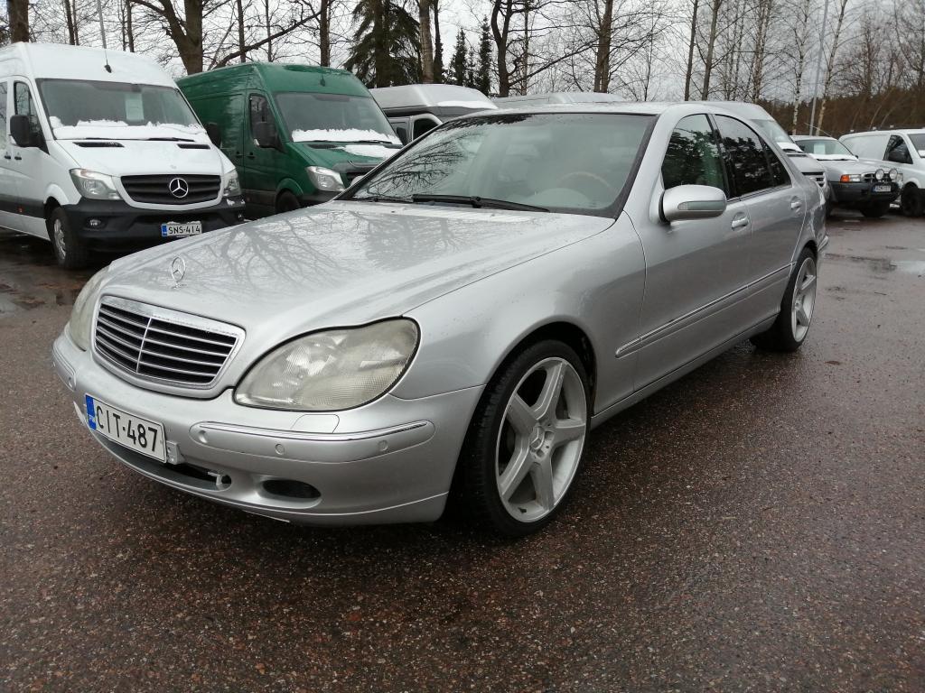 Mercedes-Benz S 320 CDI,  Automaatti,  19
