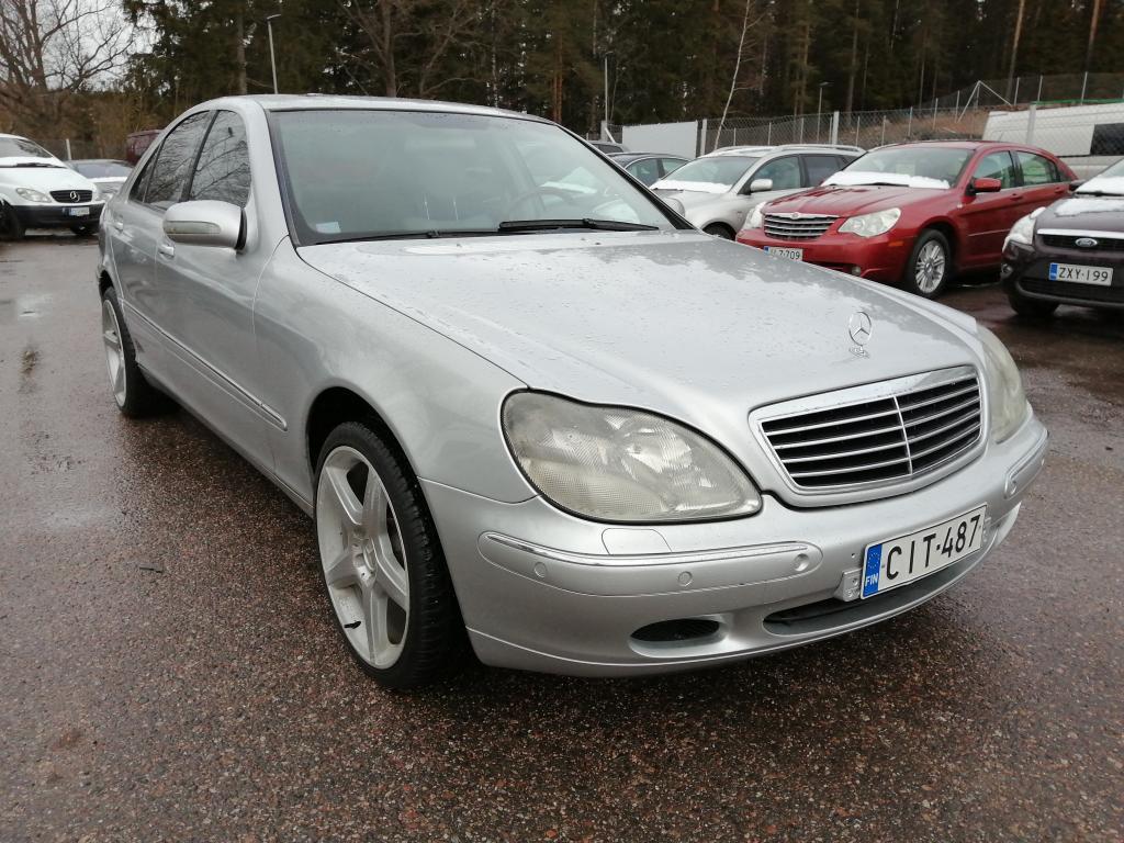 Mercedes-Benz S 320 CDI,  Automaatti,  19\