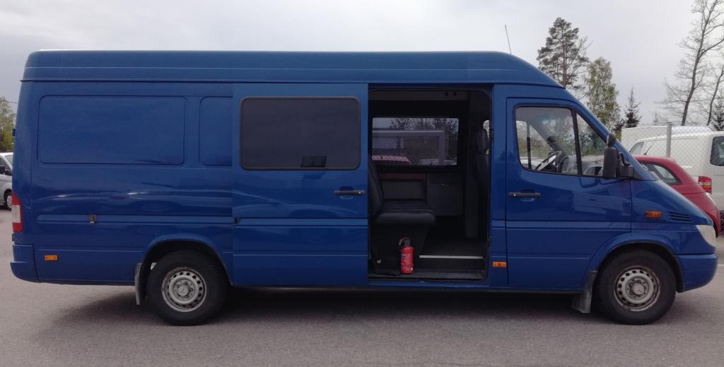 Mercedes-Benz Sprinter 316 CDI,  5-paikkainen matkailuauto,  Hinta sis. ALV,  Rahoitus jopa ilman käsirahaa!!