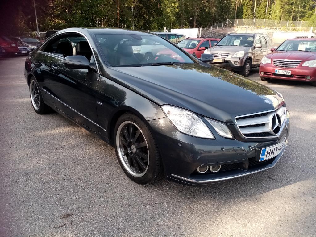 Mercedes-Benz E 250 CGI BE Coupé A,  Ohjelmoitu +30hv/60nm,  Vähän ajettu,  2-omisteinen,  Siisti,  Rahoitus jopa ilman käsirahaa!!