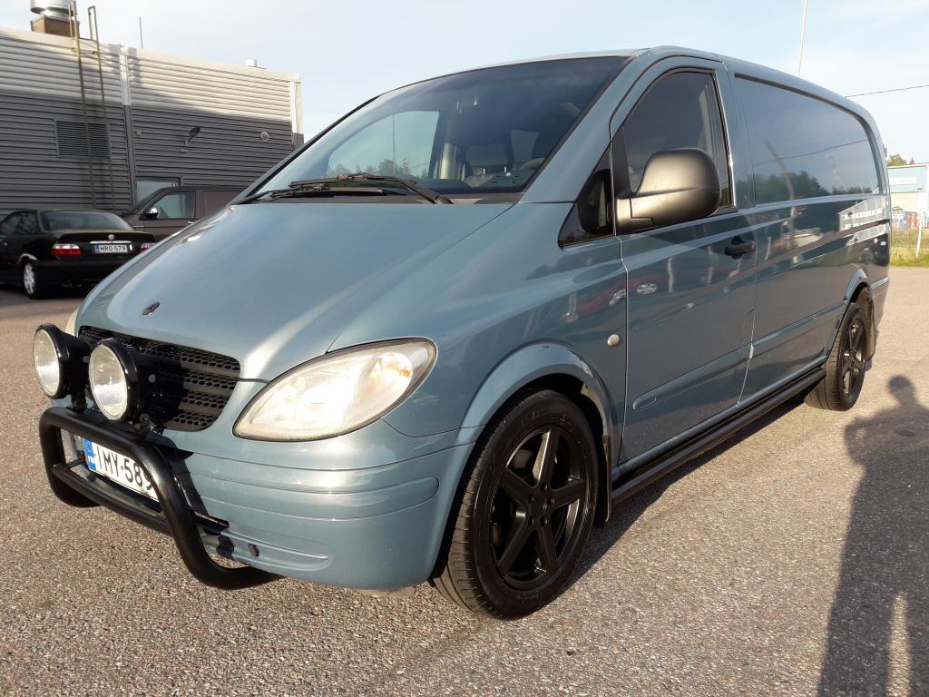 Mercedes-Benz Vito 120CDI Automaatti,  Hinta sis ALV,  Rahoitus jopa ilman käsirahaa!!