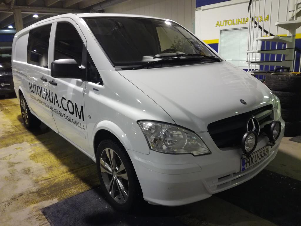 Mercedes-Benz Vito 113 CDI BlueEffiency,  Suomi-auto,  Rahoitus jopa 0% käsirahalla,  Hinta sis.ALV!!