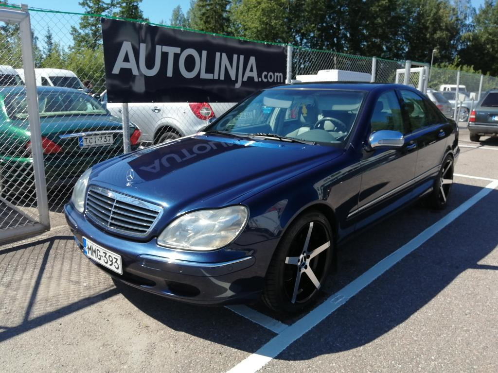 Mercedes-Benz S 320 Automaatti,  Nahkasisusta,  Siistikuntoinen,  Rahoitus jopa ilman käsirahaa!!