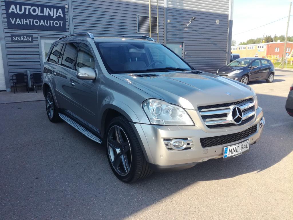 Mercedes-Benz GL 420CDI +350hv/800nm, 7-paikkainen, Runsailla varusteilla mm.Offroad paketti, Nahkasisusta, Kattoluukut, Harman Kardon yms..