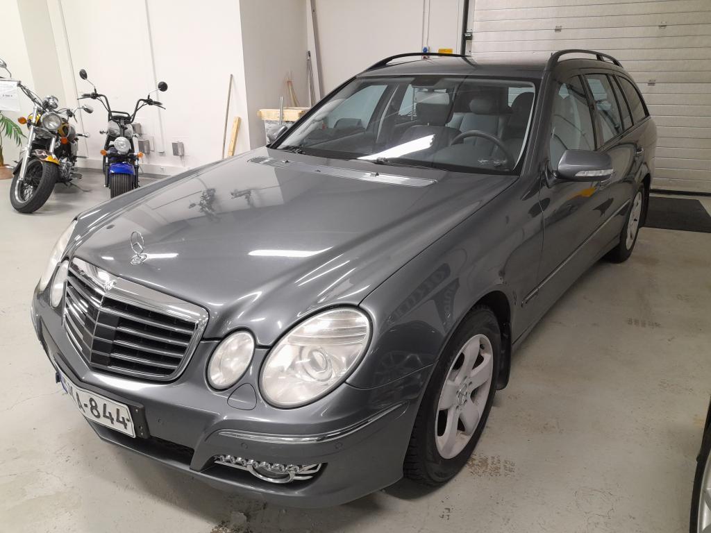 Mercedes-Benz E 220 CDI Avantgarde Automaatti,  V-keula runsailla varusteilla,  Siisti ja sisäänajettu,  Rahoitus alkaen 0% käsirahalla!!