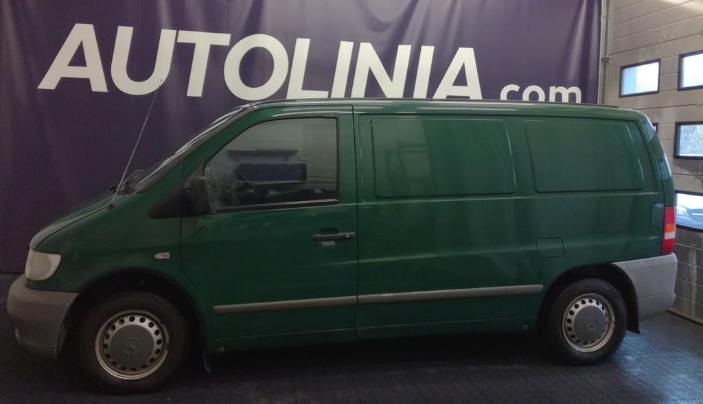 Mercedes-Benz Vito 2-omisteinen Suomi-auto,  Sis. ALV,  Rahoitus jopa ilman käsirahaa!!