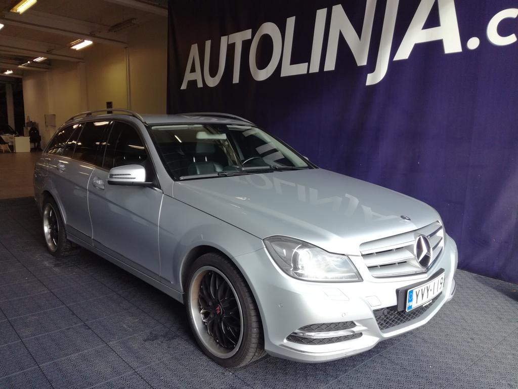 Mercedes-Benz C 180 CDI BE T A Premium Business,  Siisti Suomi-auto,  Rahoitus jopa ilman käsirahaa!!
