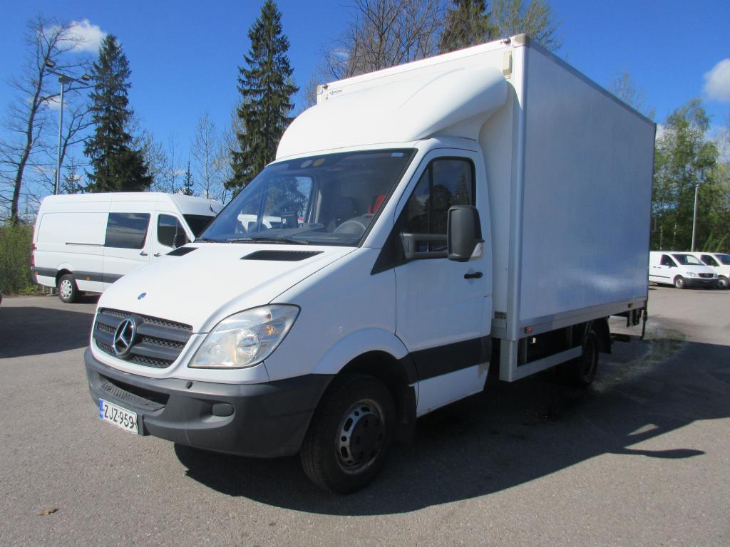 Mercedes-Benz Sprinter 515CDI *Suomi-auto*Kohtuu kilometrit*Ilmastointi*Webasto*Perälautanostin*Rahoitus jopa 0% käsirahalla*Hinta sis.ALV!!