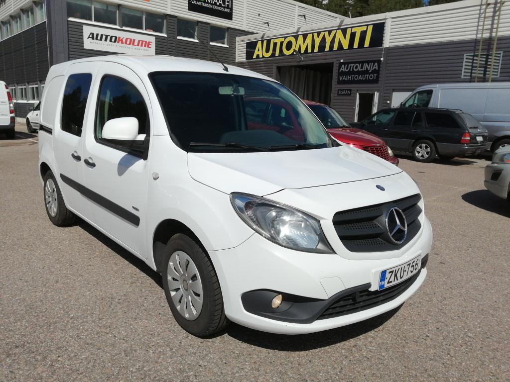 Mercedes-Benz Citan 109CDI, Keskipitkä,  Suomi-auto,  Hinta sis. ALV!!