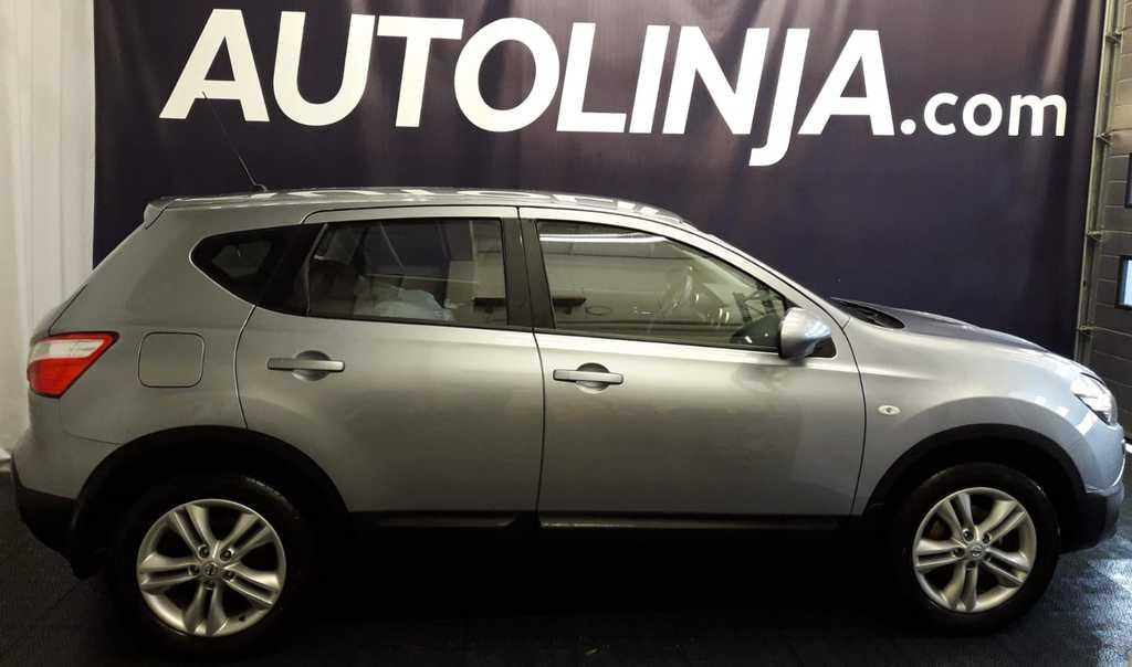 Nissan Qashqai 1, 6dCi DPF Stop / Start System Acenta,  Siisti Suomi-auto,  1-omistaja,  Rahoitus jopa ilman käsirahaa!!