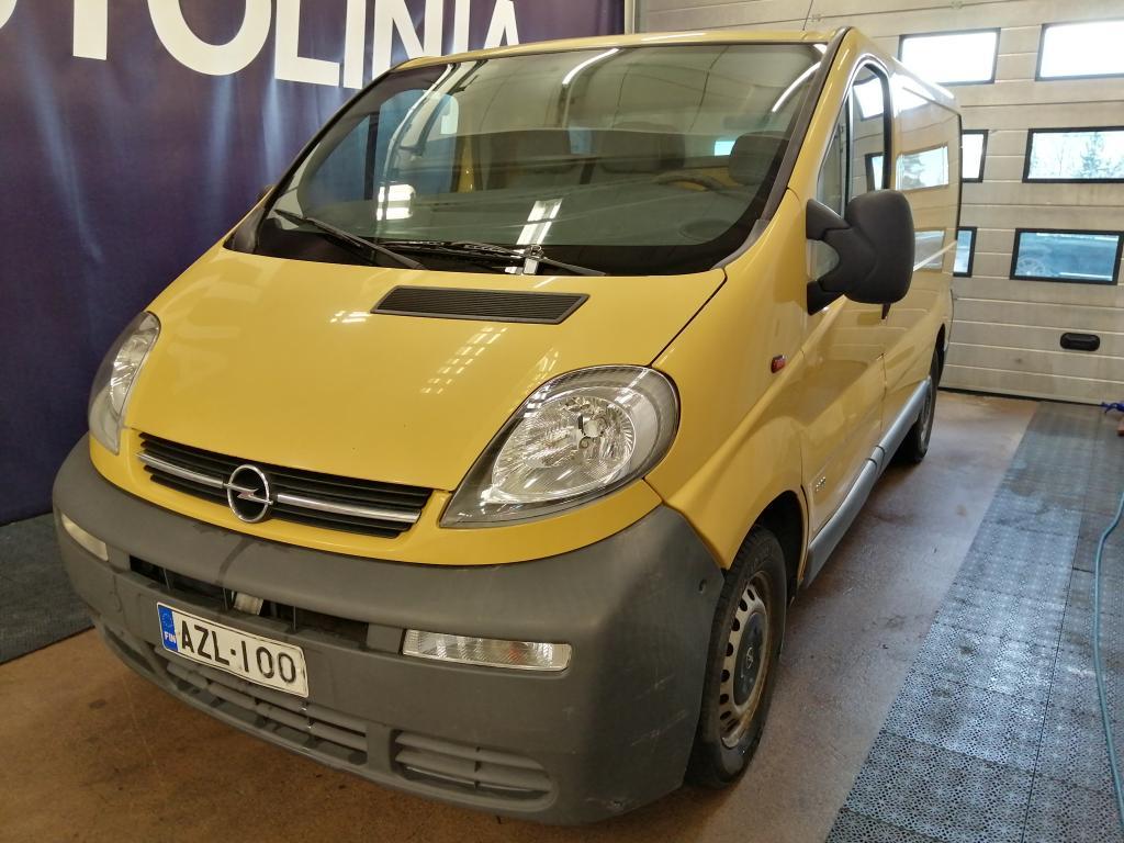 Opel Vivaro Van 1.9DI,  Hinta sis. ALV,  Rahoitus jopa ilman käsirahaa!!