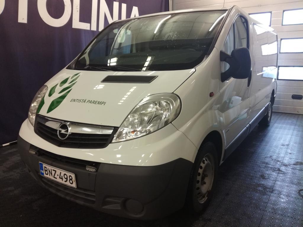 Opel Vivaro Van Entistä parempi! Hinta sis. ALV,  Rahoitus jopa ilman käsirahaa!!