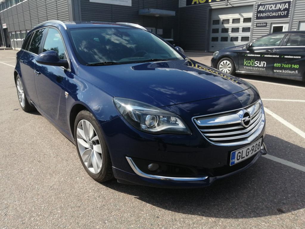 Opel Insignia Sports Tourer Sport 2, 0 CDTI ecoFLEX Start/Stop 88kW MT6, Jakopäähuolto 260tkm/2020,  Rahoitus jopa ilman käsirahaa!!