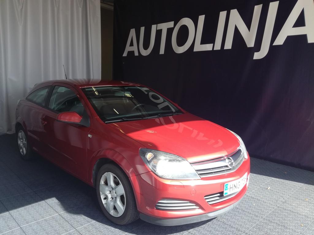 Opel Astra GTC 1.8i,  Automaatti,  Siistikuntoinen Suomi-auto,  Rahoitus jopa ilman käsirahaa!!