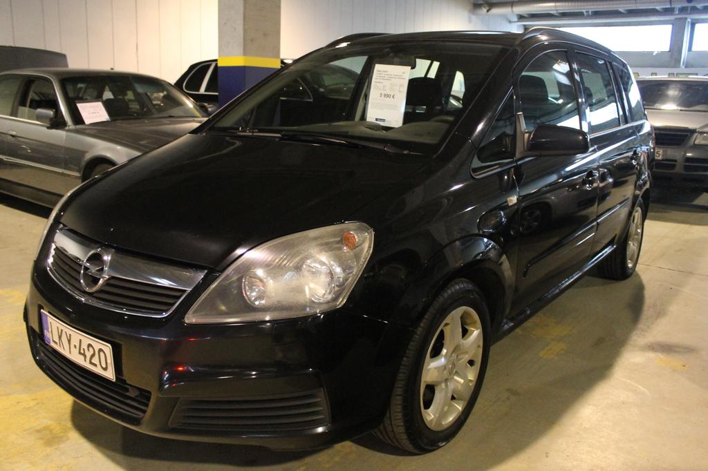 Opel Zafira 1.8i MPV,  Ilmastointi,  Suomi-auto 3-omistajalta,  7-paikkainen,  Rahoitus jopa 0% käsirahalla!!