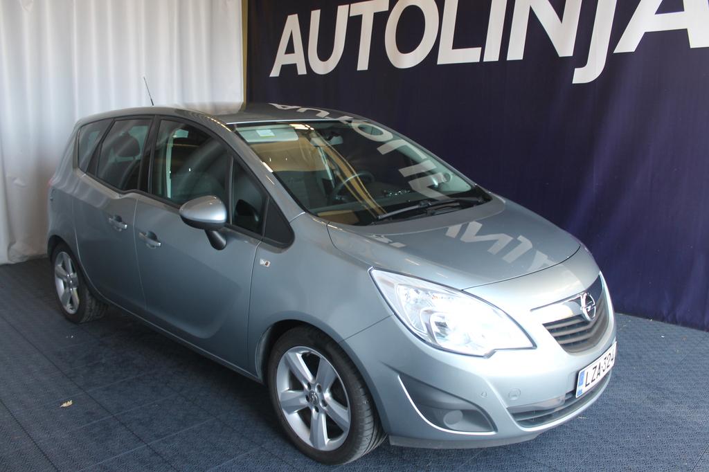 Opel Meriva 5-ov Enjoy 1, 4T ecoFLEX 89kW MT5,  Vähän ajettu Suomi-auto 1-omistajalta,  Siisti,  Rahoitus jopa 0% käsirahalla!!