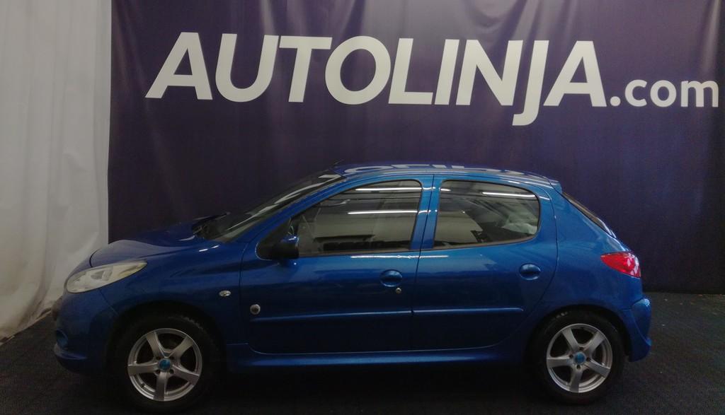 Peugeot 206+ Generation 75,  2-omisteinen Suomi-auto,  Luottohäiriö ei ole ehdoton este osamaksukaupalle!!