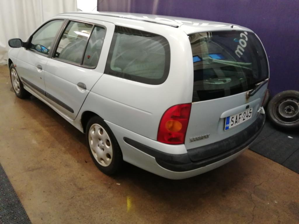 Renault Megane 1.6i,  Seuraava katsastus 07/20