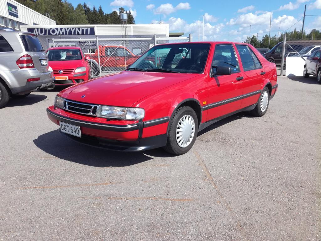 Saab 9000 1-omisteinen Suomi-auto,  Vähän ajettu,  Siisti,  Rahoitus jopa ilman käsirahaa!!
