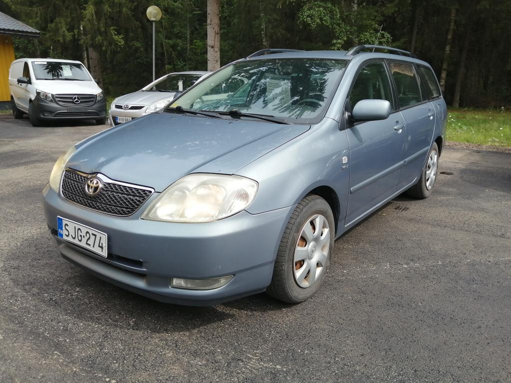 Toyota Corolla 1.6,  Seuraava katsastus 02/22,  Rahoitus jopa ilman käsirahaa!!