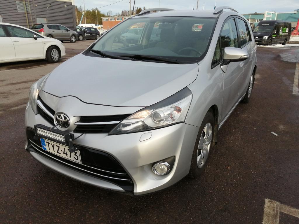 Toyota Verso 1, 8 Valvematic Active Multidrive S,  7-paikkainen,  Hinta sis. ALV,  Rahoitus jopa ilman käsirahaa!!
